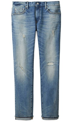 Uniqlo Lightweight Distressed Jeans