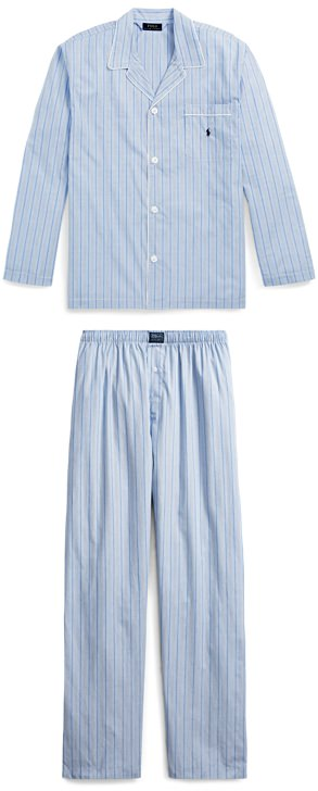 Ralph Lauren Broadcloth Pajama Shirt