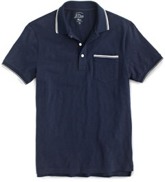 J.Crew Tipped Polo