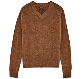 Zara Wool/Mohair Blend V-Neck Sweater