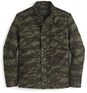 J.Crew Quilted Camo Jacket