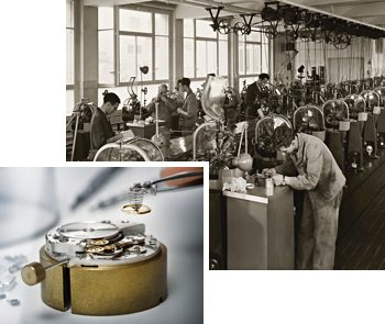 Oris Watch Factories