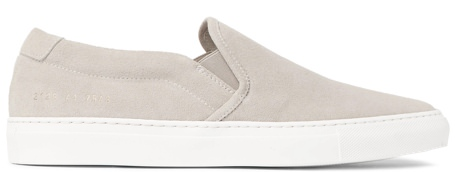 Common Projects Italian Suede Low-Top Sneakers