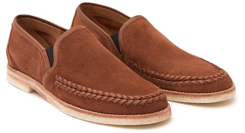 Hudson London Tangier Suede Loafer