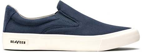 SeaVees Hawthorne Poplin Cotton Low-Top Sneakers
