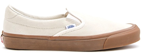 Vault by Vans OG Slip-On Suede Low-Top Sneakers