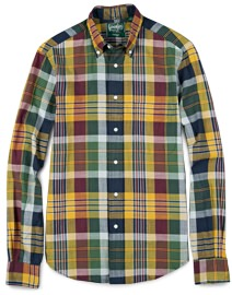 Gitman Vintage Madras Shirt