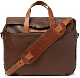 RRL Leather Briefcase