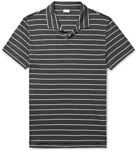 Onia Slub Linen Polo Shirt