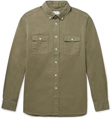 Saturdays NYC Cotton-Twill Utility Shirt