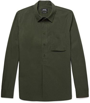 A.P.C. Soldier Poplin Shirt
