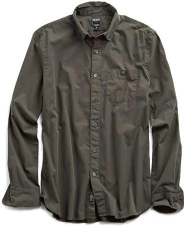 Todd Snyder Garment Dyed Poplin Shirt