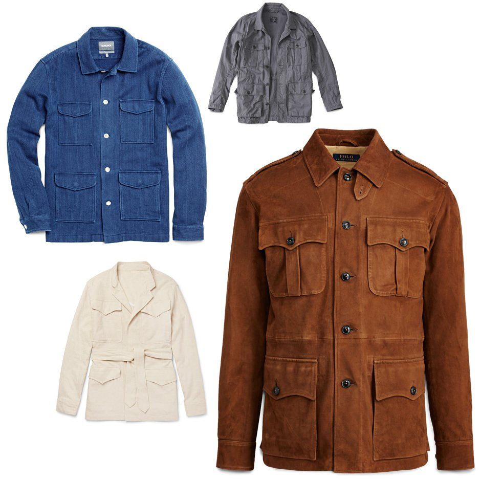 Men's Safari Jackets