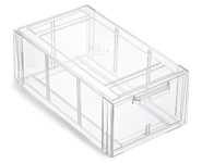 The Container Store Clear Shoe Storage Containers