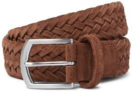 Anderson's Woven Suede Belt
