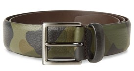 Anderson's Camo Leather Belt