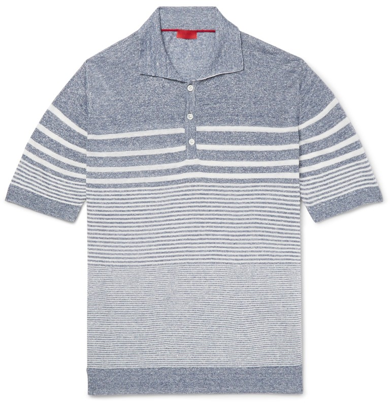 Isaia Knit Polo