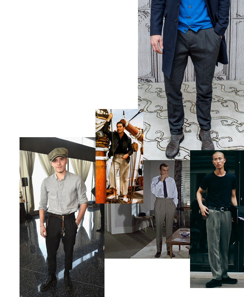The best men's pleated pants