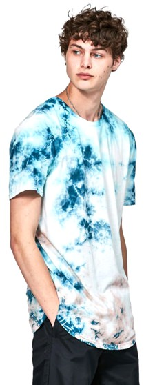 Pacsun Men's Tie-Dyed T-Shirt