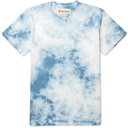 Mollusk Men's Tie-Dyed T-Shirt
