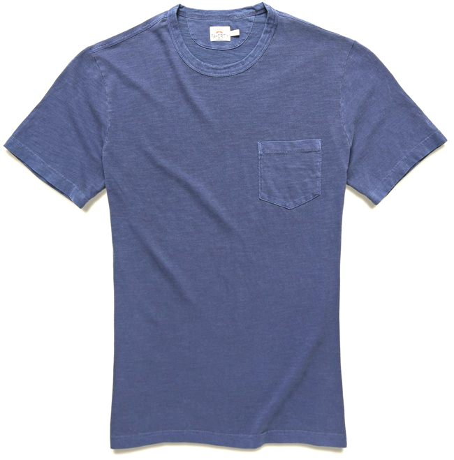Faherty Men's Specialty Fabric T-Shirt
