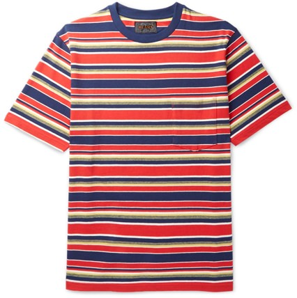 Beams Plus Men's Striped T-Shirt