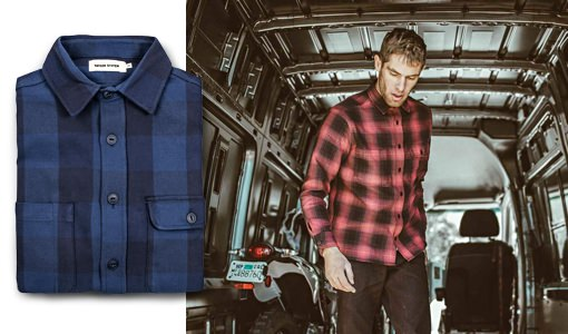 Taylor Stitch Plaid Utility Shirt