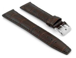 Straps Co. Croc-Embossed Leather Strap