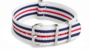 J.Crew Striped Nylon NATO Strap