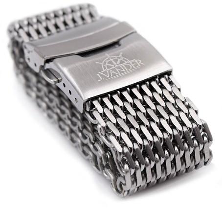 J.Vander Milanese Mesh Stainless Steel Strap