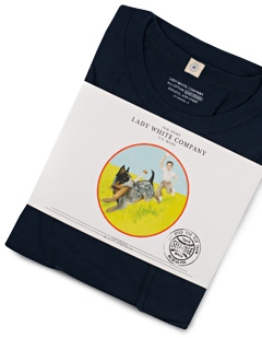 Lady White Co. Clark Pocket Tee