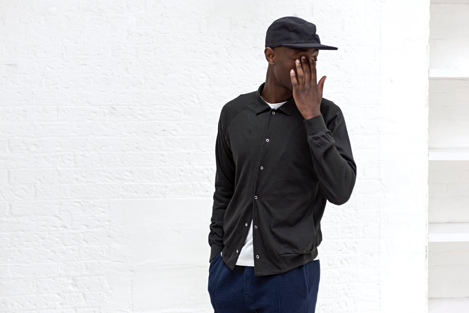 Les Basics Cotton Mesh Bomber and Peak Cap