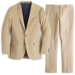 J.Crew Stretch Chino Suit Jacket