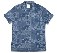 Life After Denim Patchwork Print Shirt