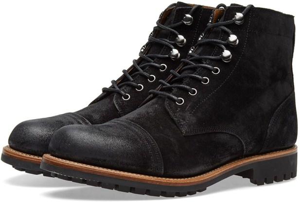 Grenson Cap-Toe Boots