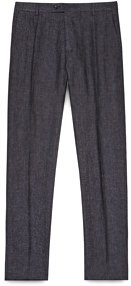 Reiss Lightweight Linen and Wool Trousers