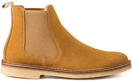 Astorflex Crepe Soled Chelsea Boots