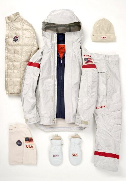 Burton PyeongChang Olympic Snowboarding Uniform