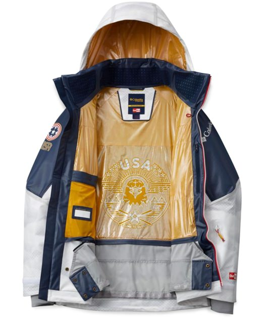 Columbia PyeongChang Olympic Ski Jacket and Pants