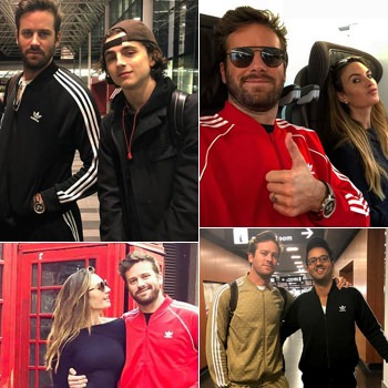 The best photos of Armie Hammer in a track suit