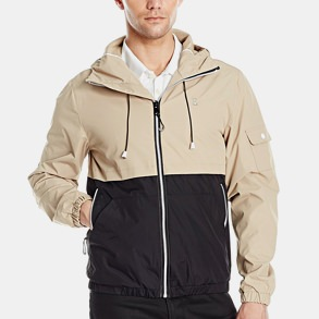 Izod Hooded Windbreaker