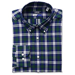 Izod Tartan Button-Down