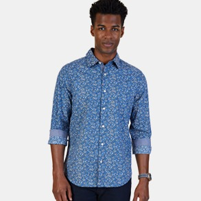 Nautica Floral Poplin Shirt