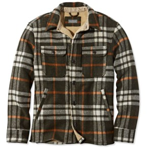 L.L. Bean Wool Shirt Jacket