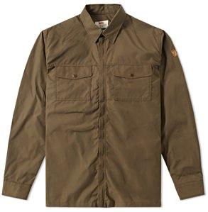 Fjallraven Water-Resistant Shirt Jacket