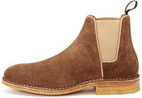 Aquatalia Waterproof Suede Chelsea Boots