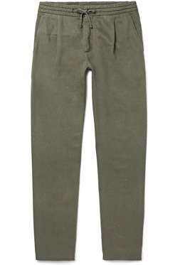NN07 Tapered Twill Trousers