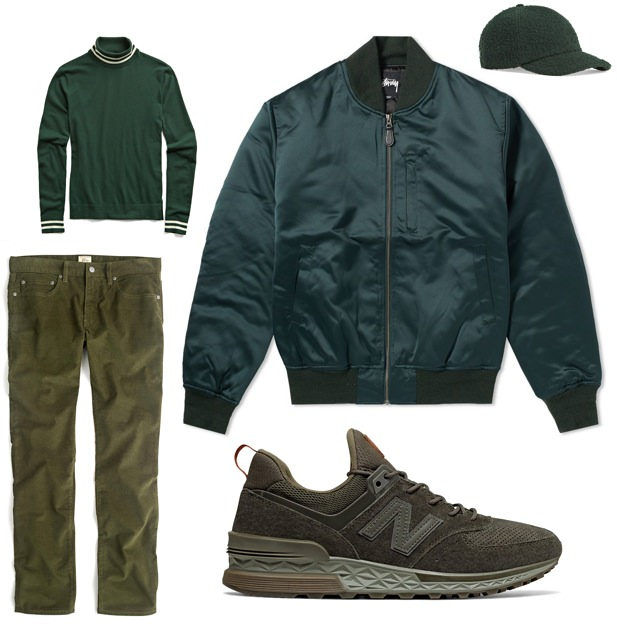 Green Outfit Pairings