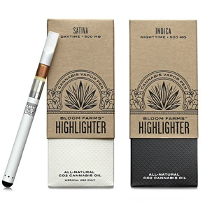 Bloom Farms Highlighter Vapor Pen