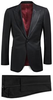 Suitsupply Classic Peak Lapel Tuxedo